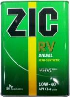 Моторное масло ZIC RV 10W-40 4L