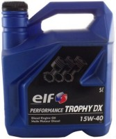 Моторное масло ELF Performance Trophy DX 15W-40 5L