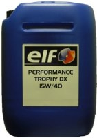 Моторное масло ELF Performance Trophy DX 15W-40 20 л