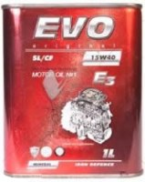 Моторное масло EVO E3 15W-40 1л