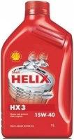 Моторное масло Shell Helix HX3 15W-40 1л