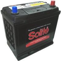 Фото - Автоаккумулятор Solite JIS CMF (75D23L)
