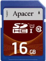 Карта памяти Apacer SDHC UHS-I Class 10  16ГБ