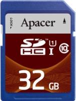 Карта памяти Apacer SDHC UHS-I Class 10 32Gb