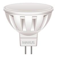 Фото - Лампочка Maxus 1-LED-289 MR16 5W 3000K 220V GU5.3 AL