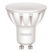 Фото - Лампочка Maxus 1-LED-294 MR16 5W 4100K 220V GU10 AL