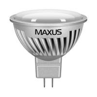 Фото - Лампочка Maxus 1-LED-358 MR16 7W 4100K 220V GU5.3 AL