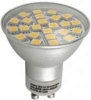 Лампочка Brille LED GU10 3.3W 24 pcs WW MR16 (128103)