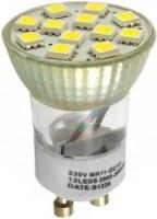 Фото - Лампочка Brille LED GU10 2.4W 12 pcs CW MR11 (L3-004)