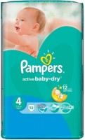 Подгузники Pampers Active Baby-Dry 4 / 13 pcs