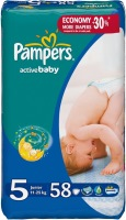 Подгузники Pampers Active Baby 5 / 58 pcs