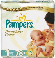 Подгузники Pampers Premium Care 1 / 78 pcs