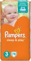 Подгузники Pampers Sleep and Play 3 / 78 pcs