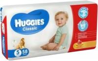 Подгузники Huggies Classic 5 / 58 pcs