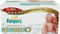 Подгузники Pampers Premium Care 4 / 104 pcs