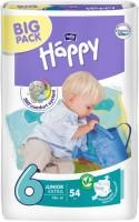 Подгузники Bella Baby Happy Junior Extra 6 / 54 pcs