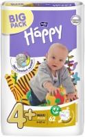 Фото - Подгузники Bella Baby Happy Maxi Plus 4 Plus / 62 pcs