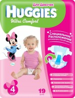 Подгузники Huggies Ultra Comfort Girl 4 / 19 pcs
