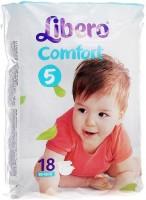 Подгузники Libero Comfort 5 / 18 pcs