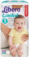 Подгузники Libero Comfort 3 / 68 pcs