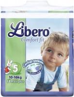 Подгузники Libero Comfort Fit 5 / 18 pcs