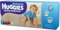 Подгузники Huggies Pants Boy 4 / 52 pcs