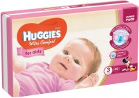 Фото - Подгузники Huggies Ultra Comfort Girl 3 / 56 pcs