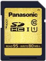Карта памяти Panasonic Gold Pro SDHC Class 10 UHS-I  16ГБ