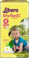 Подгузники Libero Dry Pants 4 / 34 pcs