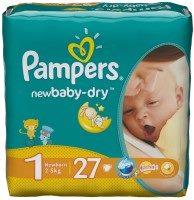 Подгузники Pampers New Baby-Dry 1 / 27 pcs