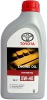 Моторное масло Toyota Motor Oil 5W-40 SL/CF 1л