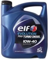 Фото - Моторное масло ELF Evolution 700 Turbo Diesel 10W-40 5L