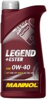 Моторное масло Mannol Legend Ester 0W-40 1L