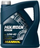 Моторное масло Mannol Molibden Benzin 10W-40 4L