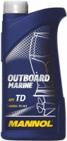 Моторное масло Mannol Outboard Marine 1L