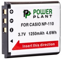 Фото - Аккумулятор для камеры Power Plant Casio NP-110