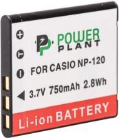 Фото - Аккумулятор для камеры Power Plant Casio NP-120