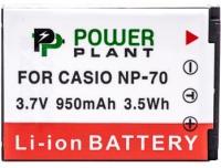 Фото - Аккумулятор для камеры Power Plant Casio NP-70