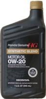 Моторное масло Honda Synthetic Blend 0W-20 1L 1л