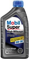 Моторное масло MOBIL Super High Mileage 5W-30 1л