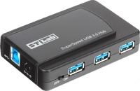 Картридер/USB-хаб STLab U-770