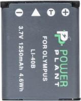 Фото - Аккумулятор для камеры Power Plant Olympus LI-40B