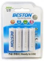 Аккумуляторная батарейка Beston Ready To Use 4xAA 2500 mAh