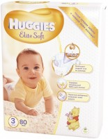 Подгузники Huggies Elite Soft 3 / 80 pcs
