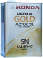 Моторное масло Honda Ultra Gold 5W-40 SN 4L