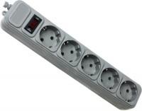 Сетевой фильтр / удлинитель Gembird SPG5-X-6G 1м