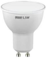 Фото - Лампочка Gauss LED ELEMENTARY MR16 5.5W 3000K GU10 13616