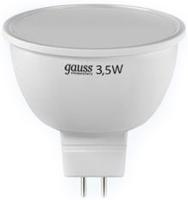 Фото - Лампочка Gauss LED ELEMENTARY MR16 3.5W 4100K GU5.3 13524