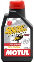 Моторное масло Motul Snowpower 4T 0W-40 1л