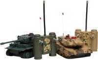 Фото - Танк на радіоуправлінні Huan Qi Battle tanks Tiger&Leopard 1:24
